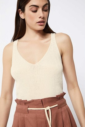Witchery V Neck Knitted Cami