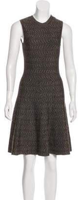Derek Lam Sleeveless A-Line Knit Dress