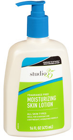 Studio 35 Moisture Lotion with Pump, Fragrance Free