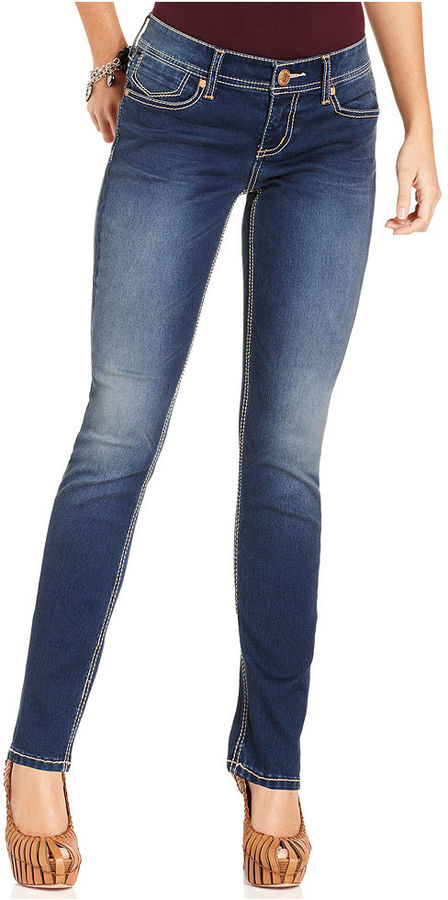 7 For All Mankind Seven7 Jeans Petite Jeans, Double 7 Embellished Skinny