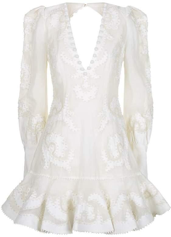 Radiate Frill Hem Mini Dress
