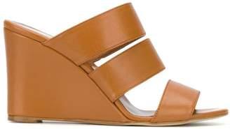 Paris Texas multi-strap wedge sandals