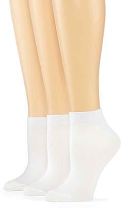 JCPenney MIXIT Mixit 3-pk. Low-Cut Socks