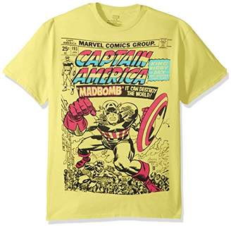 Marvel Men's Super Hero Pastel Short Sleeve Graphic T-Shirts