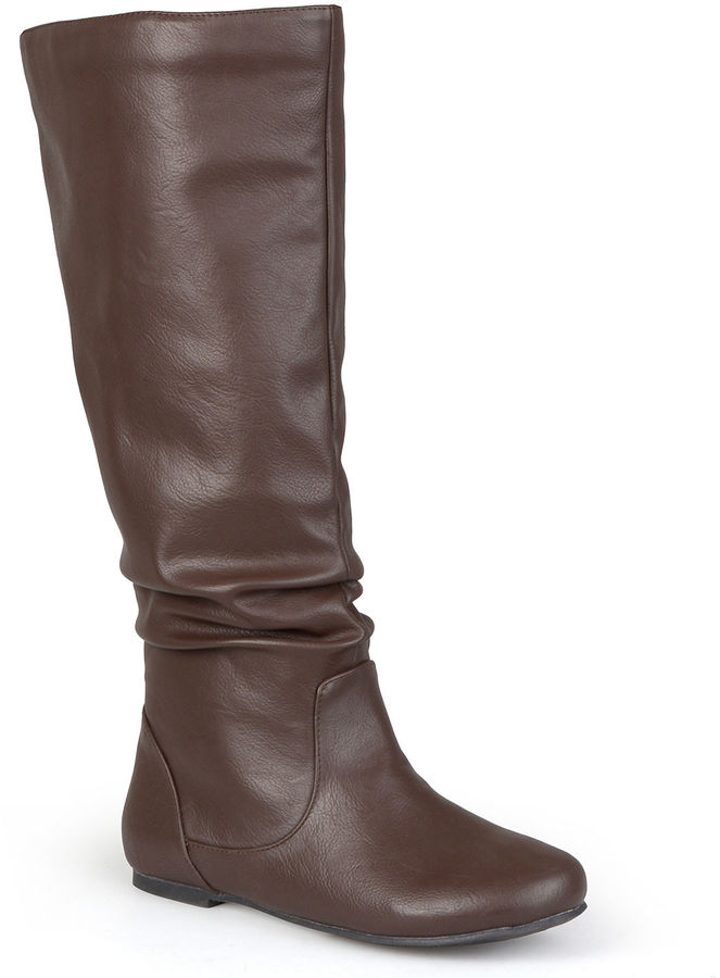 journee collection jayne slouch boots shopstyle
