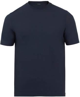 Zanone Cotton-jersey T-shirt