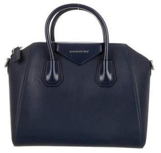 Givenchy Antigona Leather Satchel Navy Antigona Leather Satchel