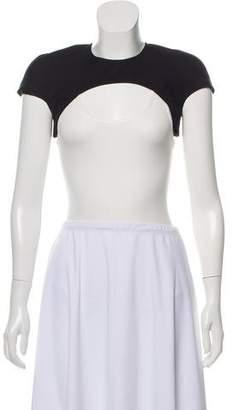 Sass & Bide Cropped Short Sleeve Top