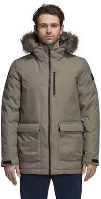 adidas Men's Outdoor Xploric Faux-Fur Hooded Parka