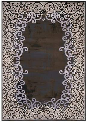 "United Weavers Christopher Knight Mirage Luminous Filagree Framed Rug - 2'7"" x 3'11"""