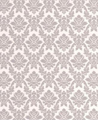 Graham & Brown Damask Gray Wallpaper