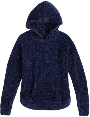 Mudd Girls 7-16 & Plus Size Hooded Chenille Sweater