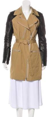 Rebecca Minkoff Leather Trench Coat