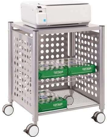 VertiFlex Vertiflex Deskside Machine Stand, Matte Gray