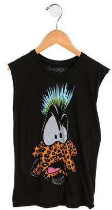 Lauren Moshi Girls' Printed Sleeveless Top w/ Tags