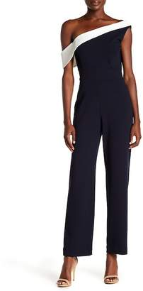Alexia Admor One-Shoulder Jumpsuit