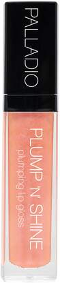 Palladio Plump N Shine Lip Gloss, Creamy Pink, 0.19 Ounce by