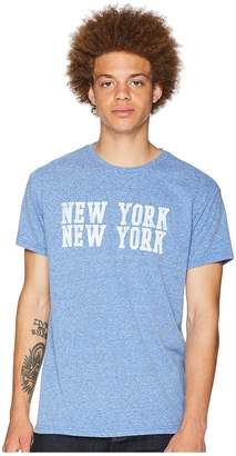 Original Retro Brand The New York Vintage Tri-Blend Tee Men's T Shirt