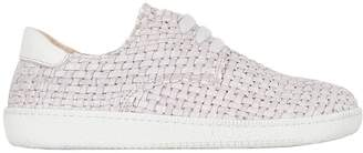 Momino Woven Nappa Leather Sneakers