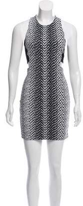 Elizabeth and James Sleeveless Cut-Out Dress