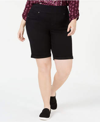 Style&Co. Style & Co Plus Size Pull-On Bermuda Shorts
