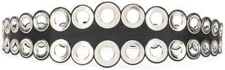Orciani multi eyelet belt