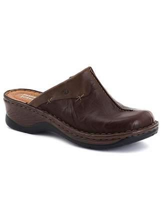 Josef Seibel Cerys Womens Leather Clogs
