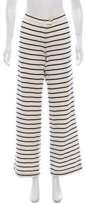 Tory Burch Striped Casual Pants