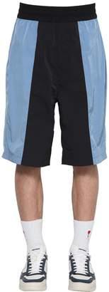 Ami Alexandre Mattiussi Color Block Shorts