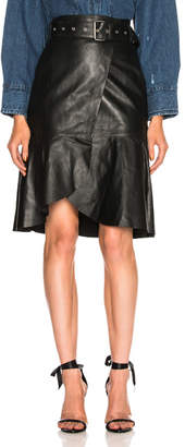 Miss Sixty Palmer Girls x Leather Skirt