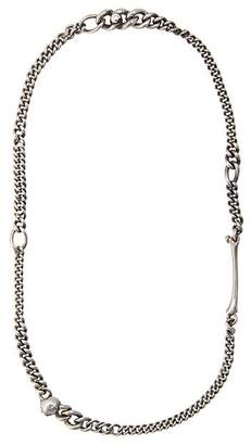 Werkstatt:Munchen asymmetric chain necklace