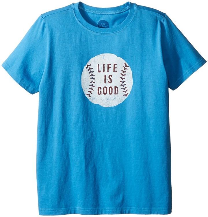 Life is Good Kids - Baseball Tee Boy's T Shirt