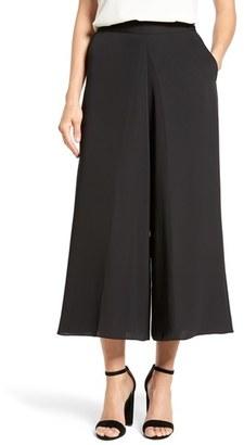Women's Nic+Zoe Draped Drama Crop Wide Leg Pants $148 thestylecure.com
