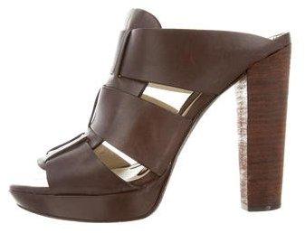 Vera Wang Lavender Label Caged Slide Sandals