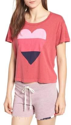 Sundry Heart Graphic Cotton Tee