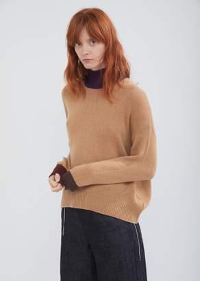 Marni Color Block Cashmere Turtleneck Sweater