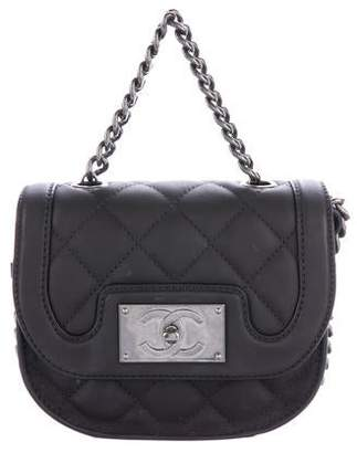 Chanel 2015 Quilted Messenger Bag