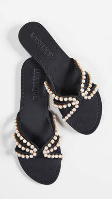 Mystique Imitation Pearl Sandals