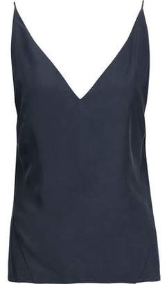 J Brand Lucy Washed-Silk Camisole