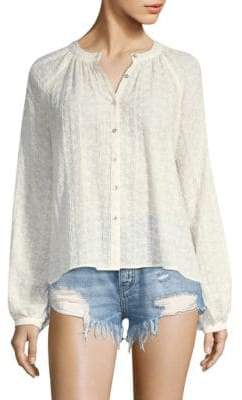 Free People Down From The Clouds Blouse