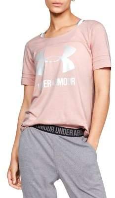 Under Armour Cotton-Blend Logo Tee