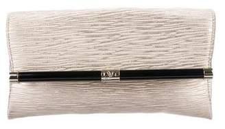 Diane von Furstenberg 440 Leather Envelope Clutch