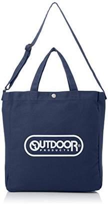 Outdoor Products (アウトドア プロダクツ) - [アウトドアプロダクツ]トートバッグ キャンバス ロゴプリント 2WAY ネイビー