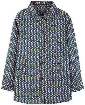 Carter's Button-Front Sateen Tunic - Preschool Girl