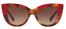 Valentino Women's 51MM Tortoise Sunglasses