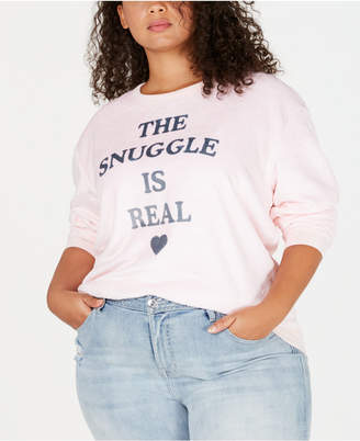 Love Tribe Plus Size The Snuggle Is Real Sweatshirt