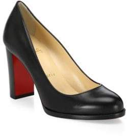 Christian Louboutin London Buche 85 Leather Pumps