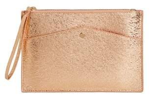 MANGO Metallic cosmetic bag