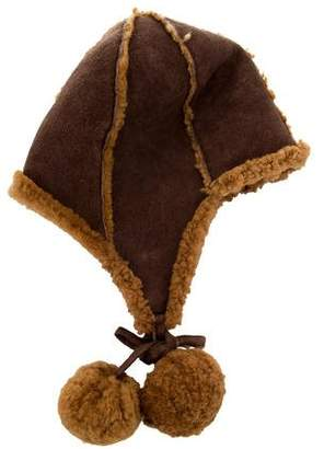 Dolce & Gabbana Shearling-Trimmed Trapper Hat