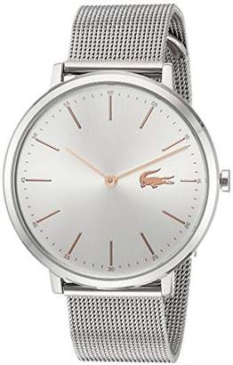 Lacoste Women's Moon Quartz Watch with Stainless-Steel Strap
